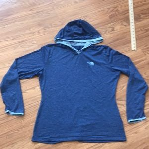 The North Face lightweight hoodie large